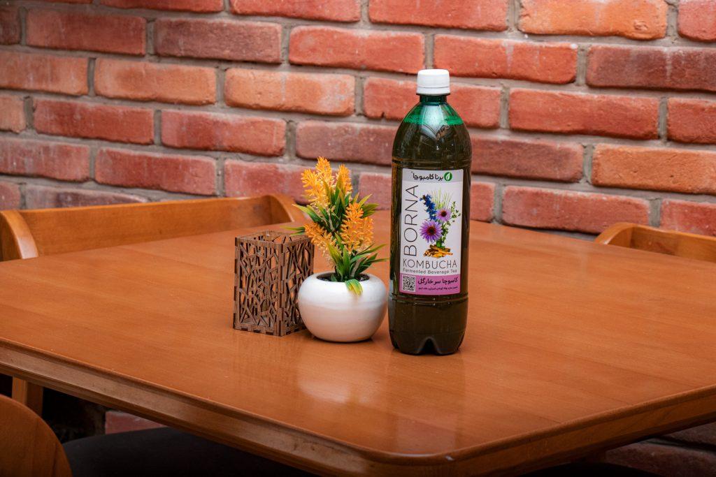 نوشیدنی کامبوچا سرخارگل
